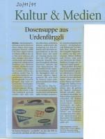 TT 20.11.2011 - Dosensuppe aus Urdenfüggli