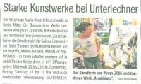 Brennpunkt 5.7.2012 - Starke Kunstwerke bei Unterlechner