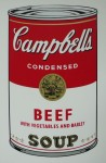 Campells  Beefsoup,Serigraphie-print &publ. by Sunday B.Morning 89x58cm (10)