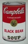 Campells Black Beansoup,  Serigraphie-print &publ. by Sunday B.Morning 89x58cm (3)