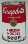 Campells Chicken-noodlesoup, Serigraphie-print &publ. by Sunday B.Morning 89x58cm (1)
