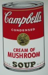 Campells Cream of mushroomsoup, Serigraphie-print &publ. by Sunday B.Morning 89x58cm (2)