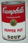 Campells Pepperpotsoup, Serigraphie-print &publ. by Sunday B.Morning 89x58cm (4)
