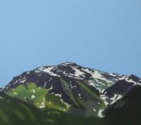 Andrea Holzinger - Gilfert 2007, Öl-LW 100x110cm