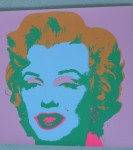 Marilyn 1970, Serigraphie, print&publ. by Sunday B.Morning, 84,5x84,5cm (8)
