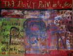 The daily pain in the ass, 1999, Öl-Acryl-LW, 160x210
